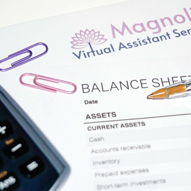 Bookkeeping Services - Magnolia Virtual Assistant Services